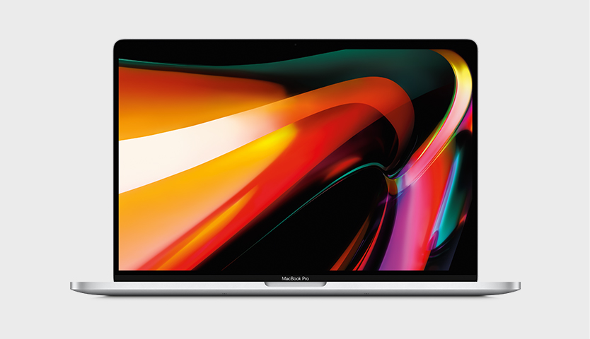 MacBook Pro 16-inch with Intel processor